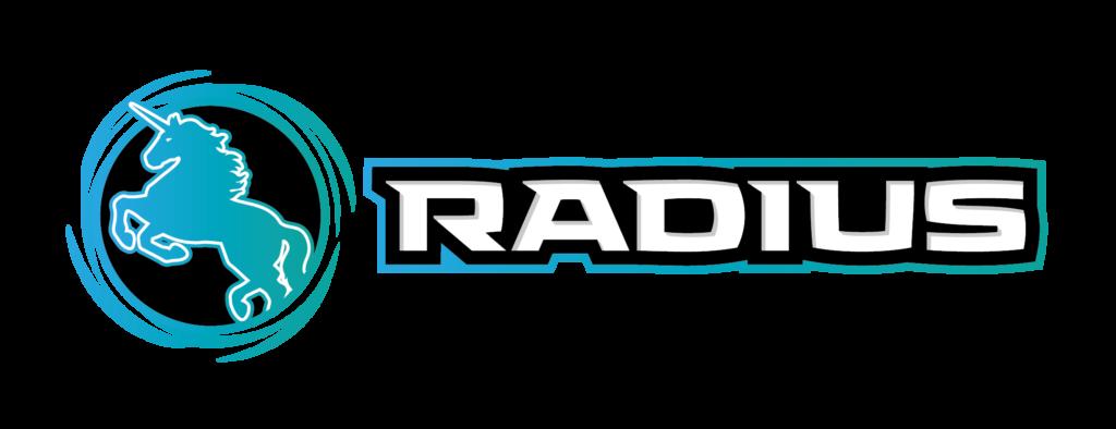 RADIUS ロゴ|横長