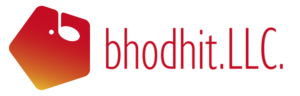 bhodhitロゴ|横長文字入り透過版(大)